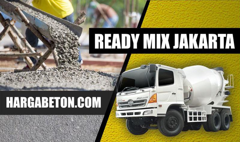 HARGA BETON READY MIX JAKARTA MURAH PER M3 2018