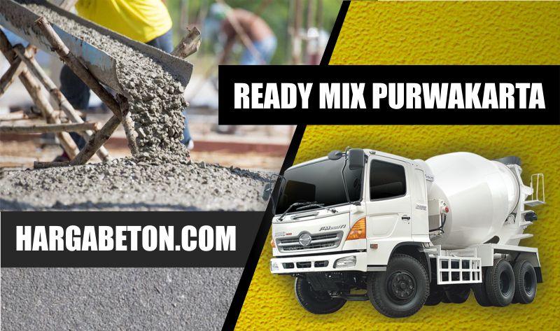 HARGA BETON READY MIX PURWAKARTA PER M3 SEPTEMBER 2019