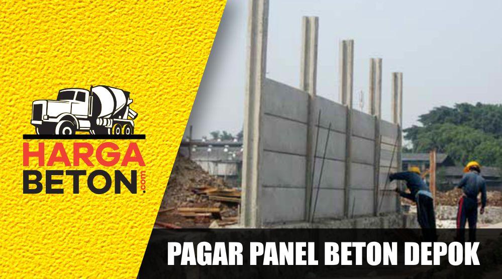 √ HARGA PAGAR PANEL BETON DEPOK TERBARU AGUSTUS 2019