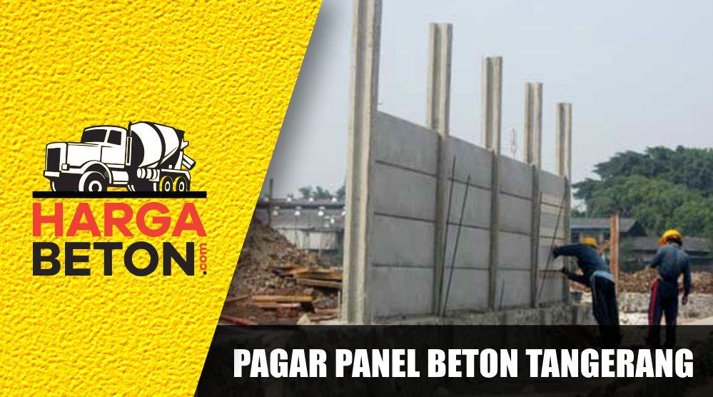 √ HARGA PAGAR PANEL BETON DI TANGERANG APRIL 2019