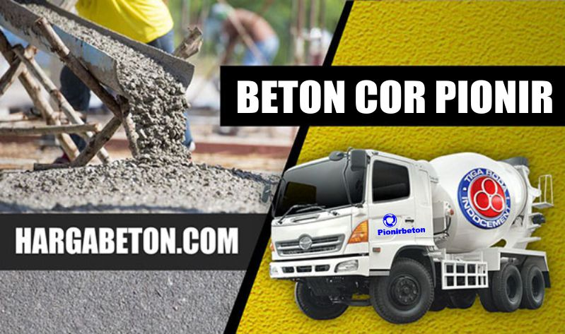 Beton Ready Mix Pionir