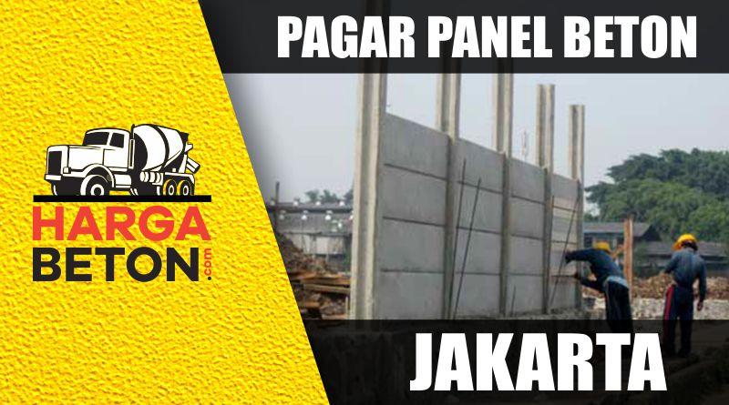 Pagar Panel Beton Jakarta