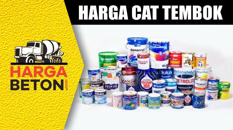 HARGA CAT TEMBOK