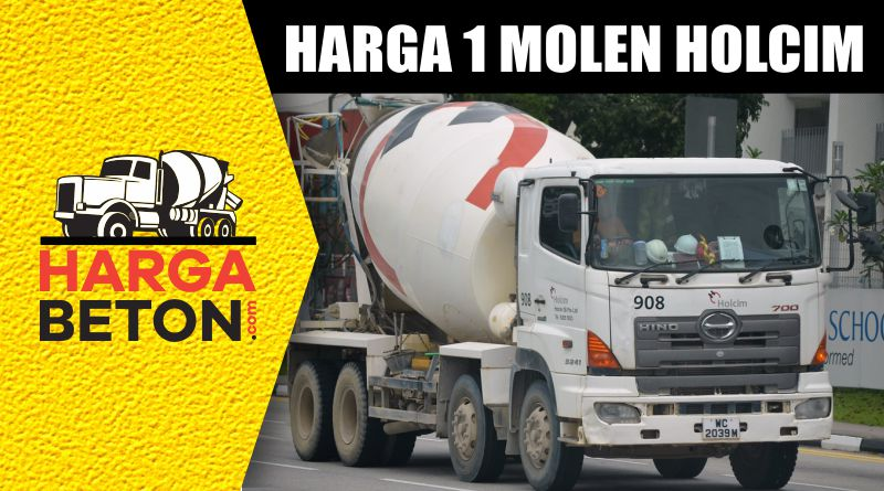 HARGA 1 MOBIL MOLEN HOLCIM TERBARU SEPTEMBER 2019